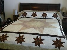 Amish Handmade King Sized Quilt 101x114