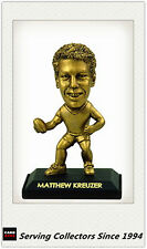 *2009 Select AFL LIMITED EDITION GOLD FIGURINE NO.8 Matthew Kreuzer (Carlton)