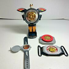 1996 Bandai Power Rangers Lot including Zeo Warrior Wheel Zord, Plus more
