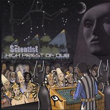 SCIENTIST - High Priest of Dub LP - SPLATTER 100 - Classic DUB King Tubby Jammy