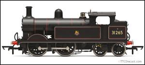 HORNBY R3631 British Railways, H Class, 0 - 4 - 4T, 31265