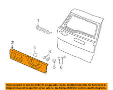 HONDA OEM 2006 CR-V Back Door-Molding Trim 74890SCAN01
