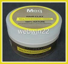 Meq Nourishing hair Clay 100% Nature 75g non-greasy hair paste gel firm hold