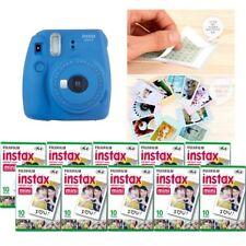 Fujifilm Instax Mini 9 cámara azul cobalto 10 Packs Fuji Film 100 Foto 8