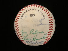 1965 Greensboro Yankees 18x Autographed Carolina League Baseball - Bobby Murcer!