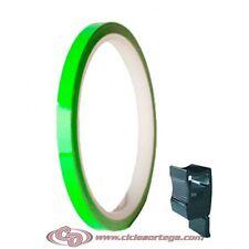 Cinta adhesiva llantas 5025 de Progrip Verde Flurocescente