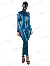 619 Latex Rubber Gummi Military army Catsuit bodysuit customized costume 0.4mm