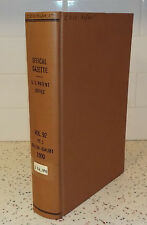 Official Gazette US Patent Office July 1900 Vol 92 Numbers 1,2,3,4