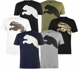 ✅ PUMA BIG CAT Herren T-Shirt Camouflage Logo Freizeit Fitness Sport Sommer CAMO