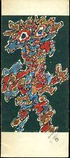 Jean Dubuffet. Paris Circus. Catalogo di mostra, Daniel Cordier, Paris 1962