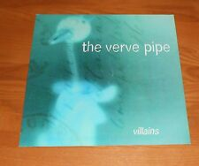 The Verve Pipe Villains Poster 2-Sided Flat Square 1997 Promo 12x12