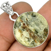 Russian Astrophylite 925 Sterling Silver Pendant  Jewelry PP103698