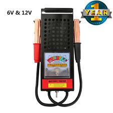 Battery Load Tester 100 Amp Load Type 6V & 12V Mechanics 6 12 Volt Car Truck AP