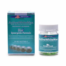 Active White Max Whitening + Slimming Softgels 1150mg Bottle of 50