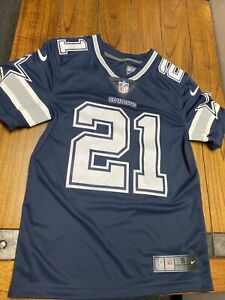 Nike Dallas Cowboys Limited Stitched Elliot Jersey Navy Men's Size small