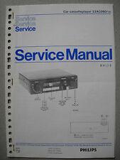 Philips 22 AC060 /00 Auto Cassette Deck Service Manual