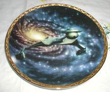 STAR TREK KLINGON BATTLECRUISER PLATE  COA