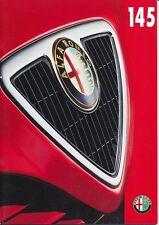 Alfa Romeo - 145 -  Prospekt - Französisch - 921 297