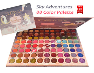 HUDA BABY Sky Adventures 88 Colors Eyeshadow Palette- NEW & Authentic! Free Ship