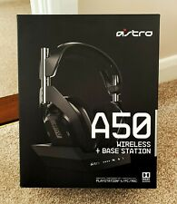 ASTRO A50 GENERATION 4 for PC, MAC & PS4 or PS5 wireless gaming headset with mic