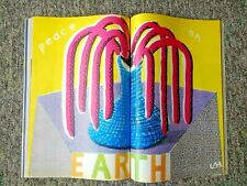 David Hockney - Peace on Earth (1986) - Original Plate Signed Print