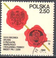 Poland 1980 - Treaty of Friendship- Mi 2681 - used