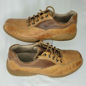 Rockport Men's Shoe Rugged Leather Lace Up Walking Casual Brown apm3704t Size 8M