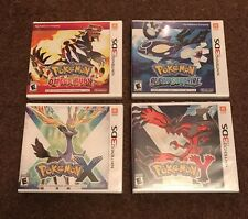 Set of 4 Pokemon Alpha Sapphire Omega Ruby  X & Y BRAND NEW 3DS Game Lot