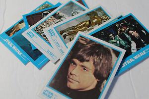 Trading Cards / Stickers:  10 STAR WARS  KELLOGG'S Series.  Peel Stickers. 1984.