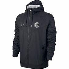 Homme Neuf Nike PSG Paris Saint Germain Coursevent Veste à capuche XL BNT 810301 014