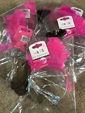 Hen Nite Party*Girls Night Out Tiara x6*Alice Band Feathers