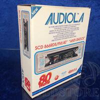 ►AUDIOLA SCD866 RDS/FM◄AUTORADIO CD 80W!NUOVA NEW VINTAGE FONDO MAGAZZINO