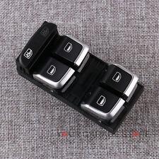 OEM Chrom Alu Schalter Fensterheberschalter für AUDI A4 S4 B8 Q5 A5 S5 S-Line