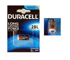DURACELL 28L BATTERIA PILA AL LITIO ULTRA 6V 2024 PX28L 2CR 1/3N L544 2CR13252