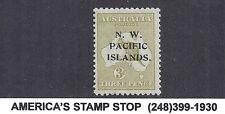 1918 Nwpi Australia New Guinea - Sc 31a / Sg 109a - Wmk 6, Die Ii - Mlh*
