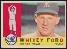1960 Topps Whitey Ford #35 Gd/Vg