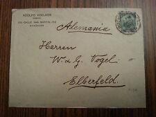 Argentinien - alter Brief Buenos Aires nach Elberfeld Alemania  12.08.1908