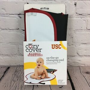 NCAA USC Trojans Cozy Cover Cushioned On-The-Go Changing Pad Tailgating Game Day
