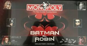 Batman & Robin Edition Monopoly Board Game Replacement Parts & Pieces 1997