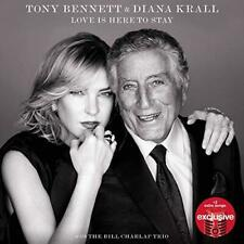 TONY BENNETT & DIANA KRALL Love Is Here To Stay TARGET Exclusive CD NEW