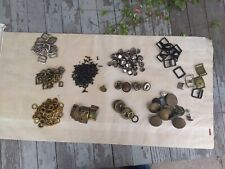 Vintage Leather Horse Harness Makers Hardware Assortment