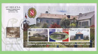 St Helena 2008 Anniversary of Longwood House M/S on First Day Cover