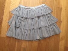 Girls GAP skirt size Lg (9-10) year old, color: silver