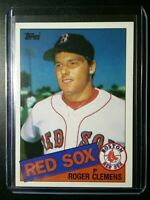 1985 Topps #181 Roger Clemens RC Red Sox Boston