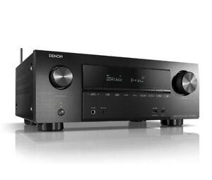Denon AVR-X2600H 7.2-Kanal AV-Receiver, HEOS, Alexa Kompatibel, Dolby Atmos,