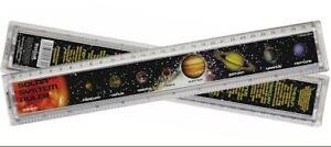 Solar System 30cm Plastic Ruler