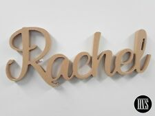 MDF Kids Name Letters Wall Hanging Wood Unpainted RAW MDF For Nursery/Kids Room
