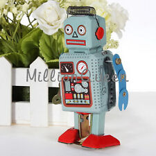 Distinctive Toy For Children Wind Up Toy Classic Robot Tin Gift Vintage UR