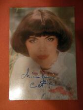 Orig.Autogrammkarte :  MIREILLE MATHIEU      signiert  70er