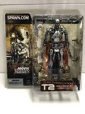McFarlane Toys Movie Maniacs Series 5 Terminator 2 T-800 Endoskeleton 2002 NIB!